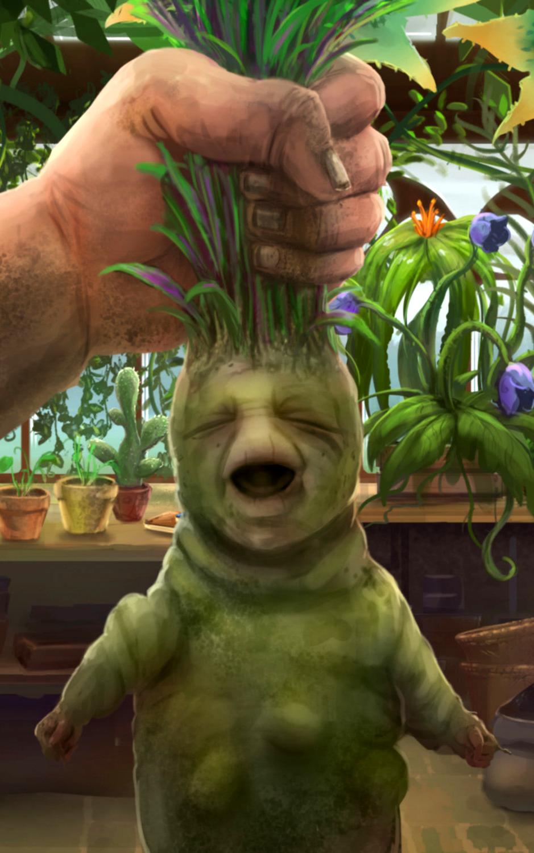 Resultado de imagem para plantas gritam mandragoras