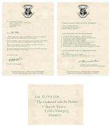 MinaLima Store - Harry Potter's Hogwarts Acceptance Letter