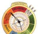 Zegar ostrzegający przed magicznymi niebezpieczeństwami