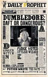 Campaign to discredit Albus Dumbledore and Harry Potter