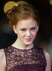 Helena Barlow at the 56th BFI London Film Festival