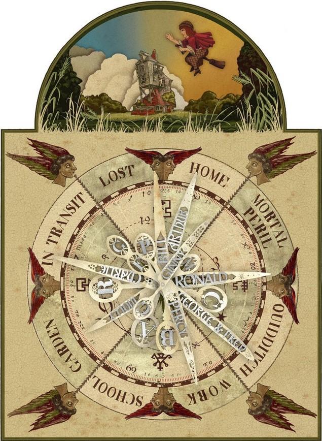 Weasley Clock   Harry Potter Wiki   Fandom