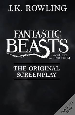 Datei:Fantastic Beasts and Where to Find Them Script Book Cover.jpg