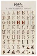 MinaLima Store - Magnet Set - Harry Potter's Alphabet