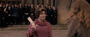 Umbridge sacks Trelawney 1996