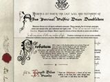 The Last Will and Testament of Albus Percival Wulfric Brian Dumbledore