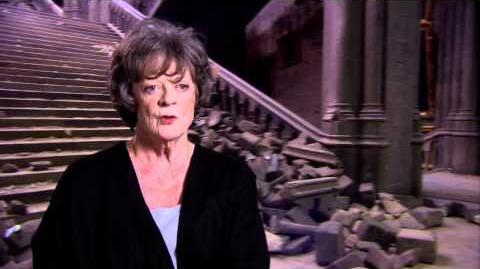 Интервью с Мэгги Смит (Дары Смерти)