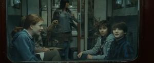 Albus James e Rose sull'Espresso per Hogwarts