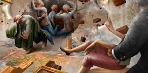Explosion de la cheminée Pottermore