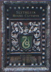 Slytherin Kapitäne Plakette 2