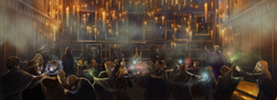 B2C11M2 Great Hall Duelling Club