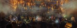 B2C11M2 Great Hall Duelling Club