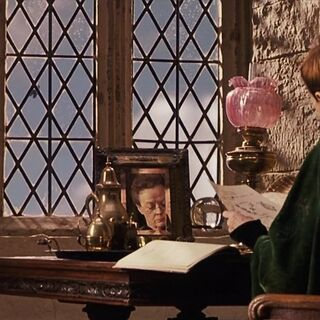 Макгонагалл в своём кабинете