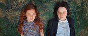 Лили и Северус в детстве