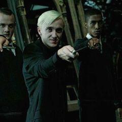 Драко, Крэбб и Забини угрожают трио