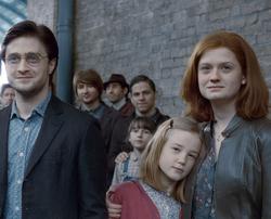 Lily Potter e suoi genitori