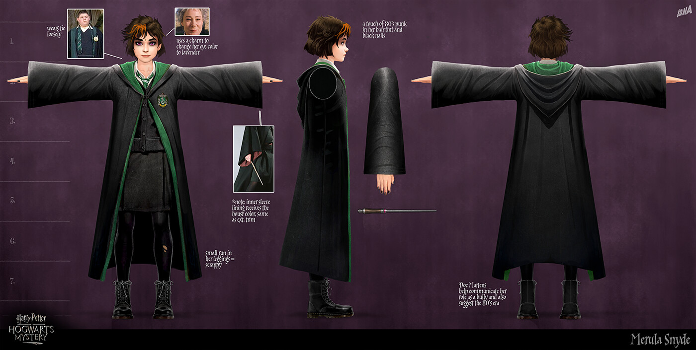 Merula Snyde Harry Potter Wiki Fandom