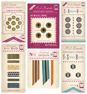 MinaLima Store - Queenie Goldstein's Haberdashery Set