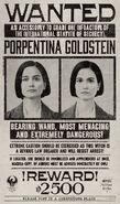 MinaLima Store - Tina Goldstein Wanted Notice