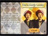 Fred i George Weasleyowie (karta)