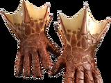 Rękawice ze smoczej skóry