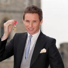2 декабря 2016 года, вручение награды Ордена британской империи