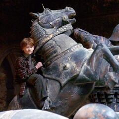 Рон на шахматном коне