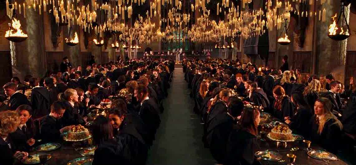 Image result for harry potter great feast