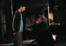 Harrry saves Pettigrew