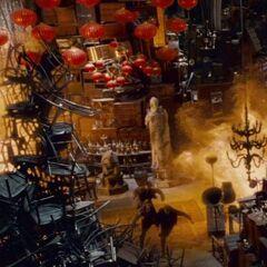 Адское пламя в Выручай-комнате
