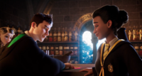 Penny Haywood, Barnaby Lee and Jacob's sibling HM BackToHogwarts Trailer