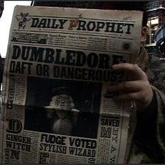 «Дамблдор: ненормальный или опасный?»