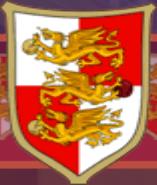 Herb angielskiej narodowej drużyny quidditcha