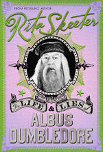 The Life and Lies of Albus Dumbledore - Mina Lima cover