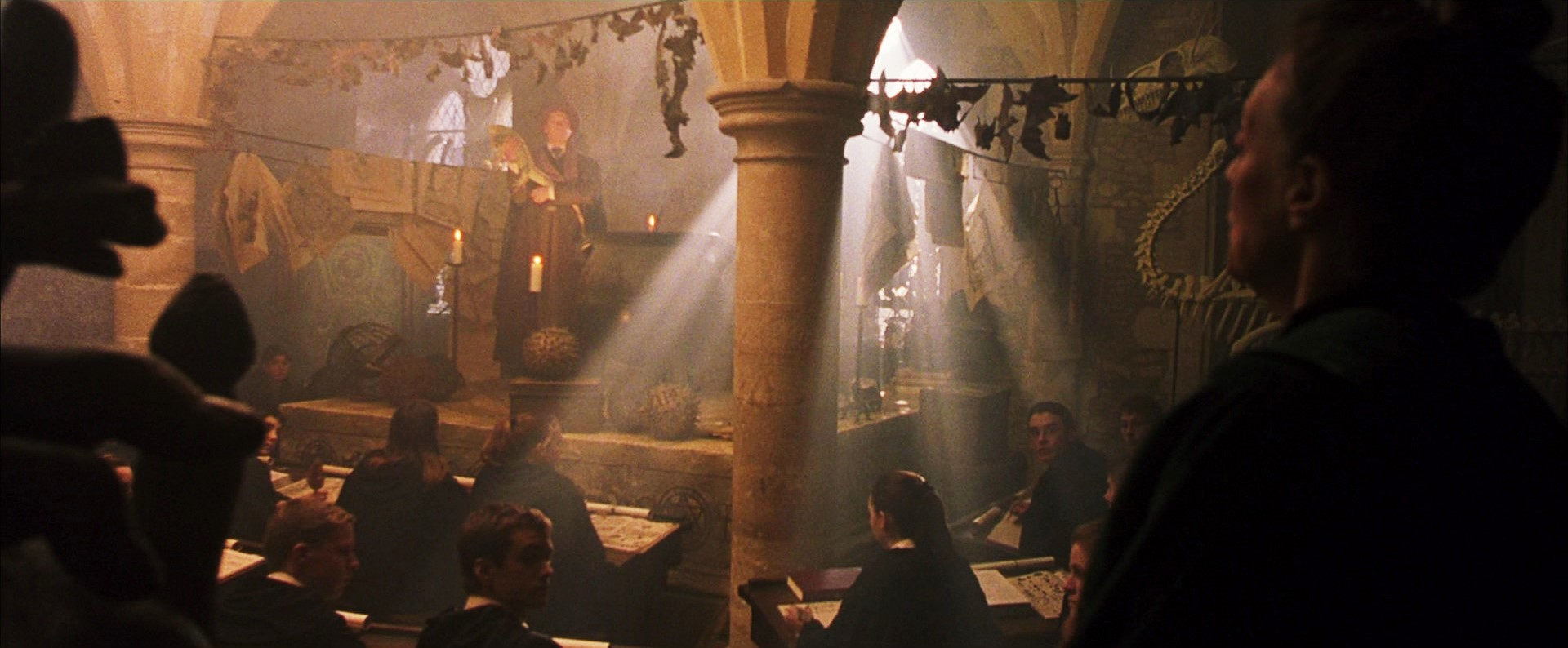 Temporary Defence Against The Dark Arts Classroom Harry Potter