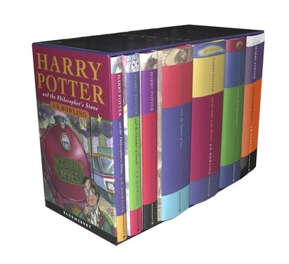 Cover art harry potter wiki fandom powered by wikia harry potter classic hardback boxed set fandeluxe Gallery