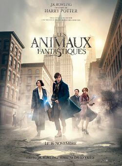 Les Animaux fantastiques (affiche) 3 (français)