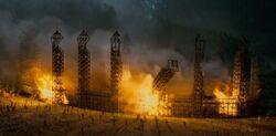 Płonące boisko quidditcha IŚ2