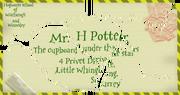 Письмо из Хогвартса (ГПиФК)