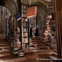 Библиотека Хогвартса