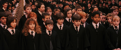Harry Potter and first years to be sorted
