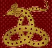 Horned Serpent House symbol