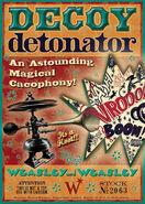 MinaLima Store - Decoy Detonator