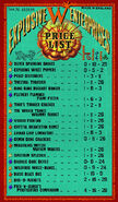 MinaLima Store - Fireworks Price List from the Weasleys'