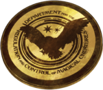 Department for the Regulation and Control of Magical Creatures Emblem WU