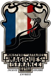 French Ministry of Magic Insignia