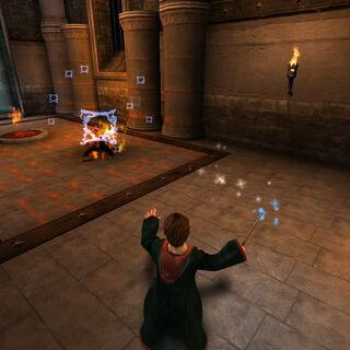Знак заклинания в игре «Гарри Поттер и узник Азкабана»