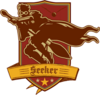 Seeker Badge (Brown and Maroon) - Harry Potter and the Half-Blood Prince™