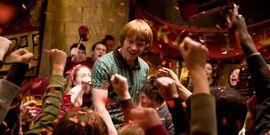 Balanga pokoj wspolny quidditch Ron