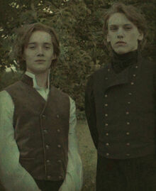 Grindelwald and Albus Dumbledore